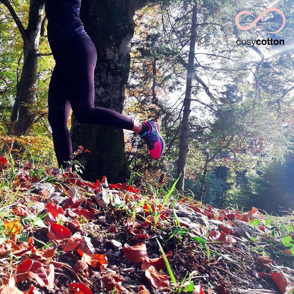 Yoga Running - article de blog - Cosy Cotton