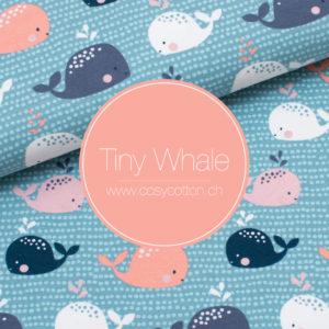 Coussin maternité allaitement - ORGANIC - baleine - Cosy Cotton