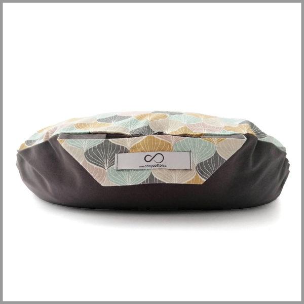 Coussin de méditation - demi-lune - pastel - Cosy Cotton