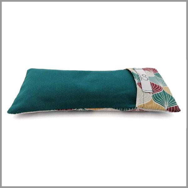 Coussin de relaxation - bouillotte - petrol - Cosy Cotton