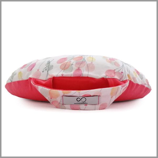 Coussin méditation enfant rose ballon - Cosy Cotton