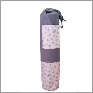 Sac pour tapis de yoga - rose - Cosy Cotton