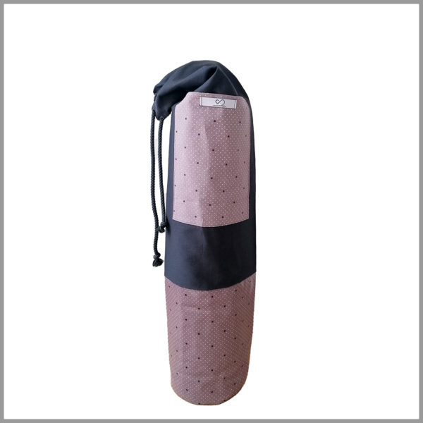 Sac pour tapis de yoga - mauve - Cosy Cotton